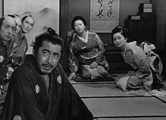 Sanjuro (椿三十郎 Tsubaki Sanjūrō), 1962, by Akira Kurosawa. The scruffy and bad mouthed samurai from Yojimbo returns in this jidaigeki drama with a slight comedy feel. Toshiro Mifune (三船 敏郎) stars in the title role, brilliantly cynical and noble at once.