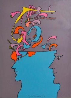 Peter Max - Pop Art  - 1970   JO: COOOOL :)