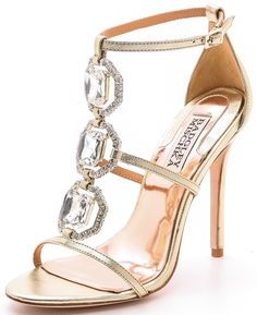 badgley mischka harvey ii jeweled t strap sandals