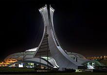 Canadá - El Estadio Olímpico de Montreal fue construido para los Juegos Olímpicos de 1976, los primeros de los tres que se han celebrado en el país.