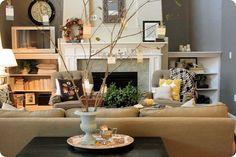 thankful tree living room