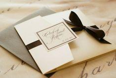 Herbst Einladungen - eine traumhafte Hochzeit gestalten