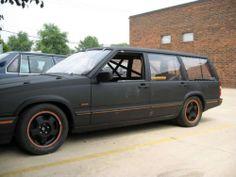 1990 Volvo 740 V8  ROLLCAGE-ROLLING-CHASSIS-LSD-42K-MILES