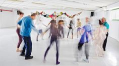 """The German-Israeli project """"Störung"""" unites science and dance. The aim: further research into Parkinson's disease. Chiropractic Clinic, Center Of Excellence, Chronic Migraines, Brain Health, New Moon, Theatre, Dancing, German, Poetry"""