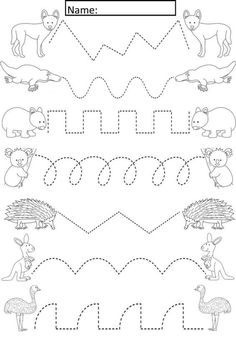 Preschool Tracing Pages ⋆ coloring.rocks!
