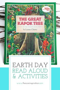These literacy and art activities inspired by Lynne Cherry's The Great Kapok Tree are a perfect way to celebration Earth Day in the classroom. A printable informational article and comprehension questions about Kapok Trees, seven writing prompts printed o