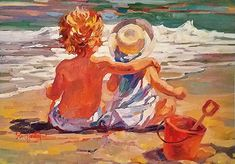 """Corinne Hartley - """"Sharing a Moment"""""""