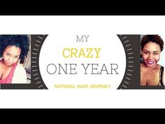 MY ONE YEAR CRAZY NATURAL HAIR JOURNEY! -   My VERY first YouTube video for Natural Hair is up! #naturalhair #naturalista #naturalhairdaily #naturalhairjunkies #naturalhairdoescare #bigchop #teamnatural #textureshot #transitioning #twistout #coils #kinkycurly #heatdamage #hairdye #naturalhairproblems #washandgo #naturalhairjourney #curls #curlyfro #curlyhair