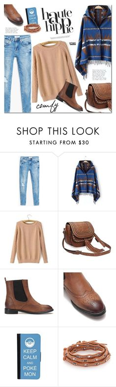 """""""Yoins"""" by mada-malureanu ❤ liked on Polyvore featuring mode, MANGO, CellPowerCases, Chan Luu, Haute Hippie, women's clothing, women's fashion, women, female et woman"""