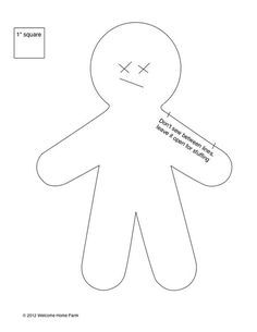 Welcome Home Farm: Dammit Doll Tutorial Doll Patterns Free, Doll Sewing Patterns, Fabric Doll Pattern, Fabric Dolls, Damnit Doll, Voodoo Doll Spells, String Voodoo Dolls, Handkerchief Crafts, Stylo 3d