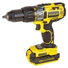 STANLEY | POWER TOOLS | STANLEY® POWER TOOLS | Cordless | 18V Li-Ion Hammer Drill