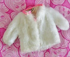 Vintage Skipper Clothes Young Ideas White Faux Fur Coat Sears Exclusive Gift Set | eBay