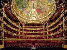 Opéra Garnier - salle de spectacle - Visite guidée Paris