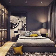 [New] The 10 All-Time Best Home Decor (Right Now) - Ideas by Trena Pino - Recommended: Home Room Design, Modern Bedroom Design, Bed Design, Modern Interior Design, Master Bedroom Interior, Home Decor Bedroom, Interior Design Games, Loft Style, Luxurious Bedrooms