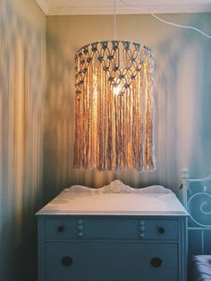Image result for macrame lighting