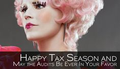 Tax Hunger Games Funny