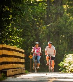Indiana Pumpkinvine Nature Trail:  Enjoy scenic views of bluffs, beaches and river valleys on these beautiful bike trails.