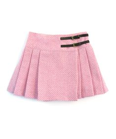 Orchid Pink Pleated Skirt - Darcy Brown
