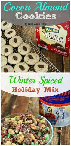 Cocoa Almond Cookies & Winter Spice Holiday Mix / by Busy Mom's Helper