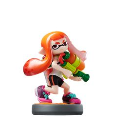 Inkling Girl Amiibo (Splatoon) for Nintendo Wii U & - Brand new! Nintendo 3ds, Nintendo Switch, Xbox 360, Playstation, Wii U, Mario Kart, Super Smash Bros, Shopping, Toys