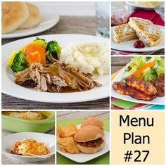 menu plan monday week 27 w/ printable shopping list | realmomkitchen.com