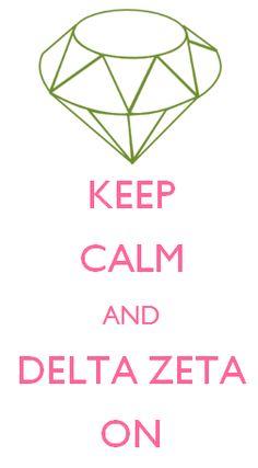 Hey i just Made this! super cute! Delta Zeta love!