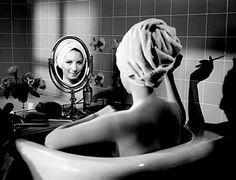Barbra Streisand~smokin in the tub