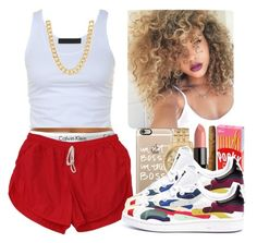 """""""Hills have eyes, the hills have eyes; Who are you to judge, who are you to judge?"""" by amor-diamond ❤ liked on Polyvore featuring Tusnelda Bloch, Casetify, Calvin Klein, Michael Kors, Gorgeous Cosmetics, sOUP and adidas"""