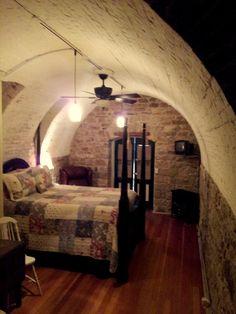 Wine Cellar Room At Murphys Bed And Breakfast Hermann Missouri
