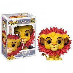 Figurine POP Le Roi Lion Simba Leaf Mane