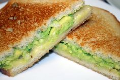 Avocado & Pepper Jack Grilled Cheese on Sourdough.