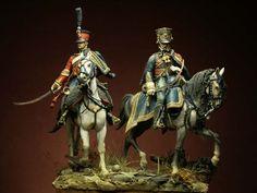 I Soldatini di Gaetano Ciotola: Le Soir de Friedland - 4° Ussari 1807 - Autore…
