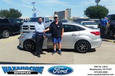 Happy Anniversary to Martin on your #Ford #Focus from Gonzalo Martinez at Waxahachie Ford!  https://deliverymaxx.com/DealerReviews.aspx?DealerCode=E749  #Anniversary #WaxahachieFord