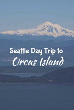 Orcas Island is the perfect day trip or weekend trip from Seattle. Check out this post for ideas of things to do, where to stay, and where to eat. Great hiking opportunities and incredible views! Bucket List, Washington Travel, Pacific Northwest