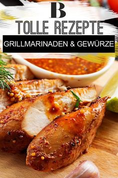 Barbecue marinade: recipes for the barbecue party - Grillen Bbq Grill, Barbecue, Grilling, Bbq Marinade, Chicken Wraps, Chicken Marinades, Wine Recipes, Party Recipes, Baked Potato