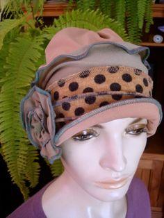 Womens Chemotherapy Extra wide Headwrap by GypsyLoveHeadbands