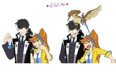 Athena Cykes and Simon Blackquill>> Aww this is actually really sweet