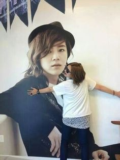 Our prince loves his posters alot ☆ミ ☆彡
