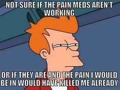 When it comes to Chronic Pain and Chronic Illness, finding pictures can be easier than words. Here are 9 memes that describe life with chronic pain! Migraine Quotes, Chronic Pain Quotes, Migraine Meme, Miss My Ex, Funny Quotes, Funny Memes, Car Quotes, Car Memes, Hilarious
