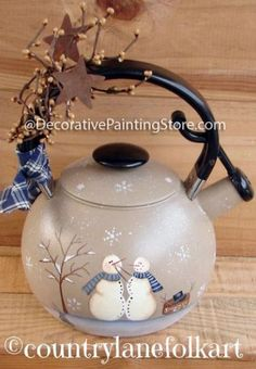 The Decorative Painting Store: Snowman Kit Pattern - Becky Levesque - PDF DOWNLOAD, Becky Levesque