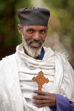 Priest Lalibela, Ethiopia