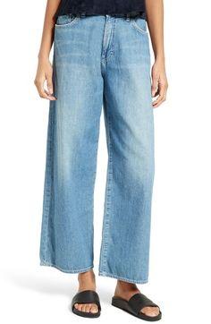 Main Image - Vince Wide Leg Crop Jeans