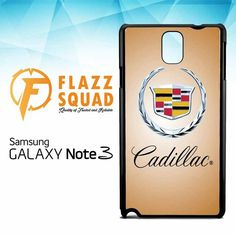 Cadillac Logo Z4352 Samsung Galaxy Note 3 Case