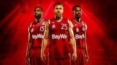 """Sehen Sie sich mein @Behance-Projekt an: """"FC Bayern Basketball: Graphic new…"""