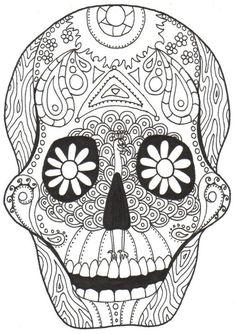 Kay Larch Studios: Dia de los Muertos COLORING BOOKS