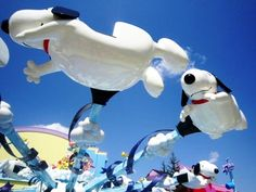 Flying Snoopy at USJ