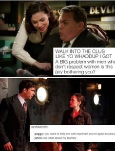 Agent Carter<<<GREAT SHOW! Loved both of these scenes!!!