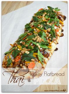 Thai Turkey Flatbrea