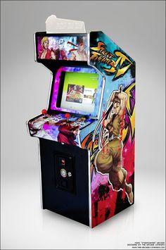 "Mini arcade prototype in 2011 named ""Starfighter"" www.the-arcade-company.com"
