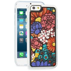 Women's Zero Gravity 'Woodstock' Embroidered Iphone 6 & 6S Case (£26) ❤ liked on Polyvore featuring accessories, tech accessories, orange and zero gravity
